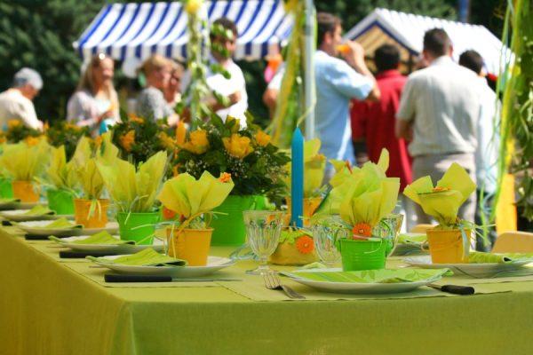 Een communiefeest of lentefeest? Wees op alles voorbereid!